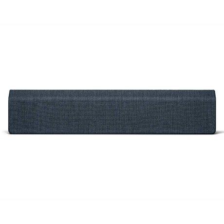 Vifa Bluetooth Lautsprecher Stockholm 2.0 dunkelblaues Aluminium Textil 110x10x21,5cm