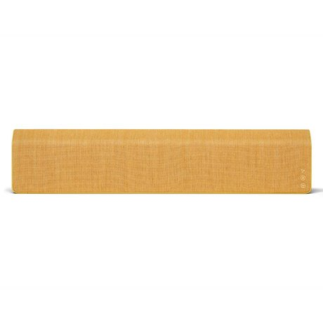 Vifa Enceinte Bluetooth Stockholm 2.0 textile en aluminium jaune 110x10x21,5cm
