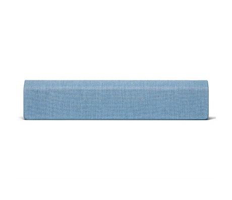 Vifa Bluetooth speaker Stockholm 2.0 ijsblauw aluminium textiel 110x10x21,5cm