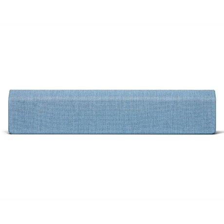 Vifa Bluetooth Lautsprecher Stockholm 2.0 Eisblau Aluminium Textil 110x10x21,5cm