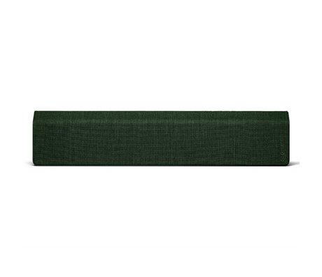 Vifa Bluetooth Lautsprecher Stockholm 2.0 dunkelgrünes Aluminium Textil 110x10x21,5cm