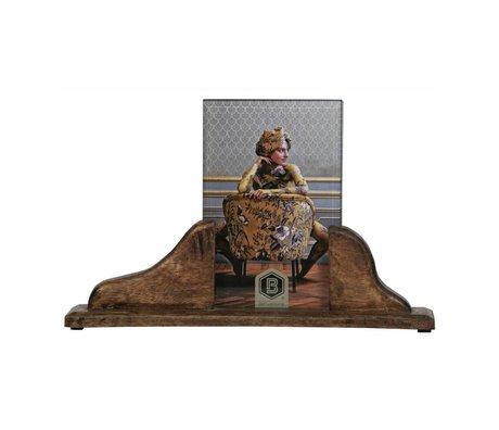 BePureHome Fotolijst Beloved M donker bruin hout 16x26cm