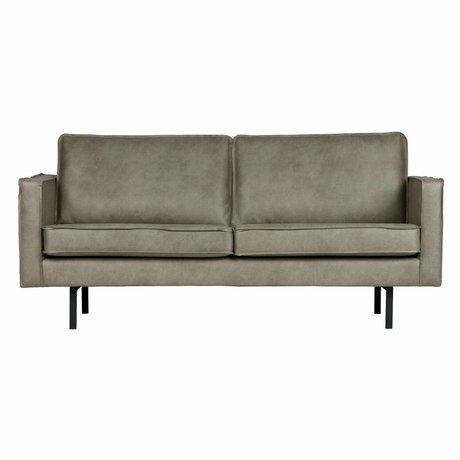 BePureHome Sofa Rodeo 2.5 seater Elephant skin gray leather 85x190x86cm