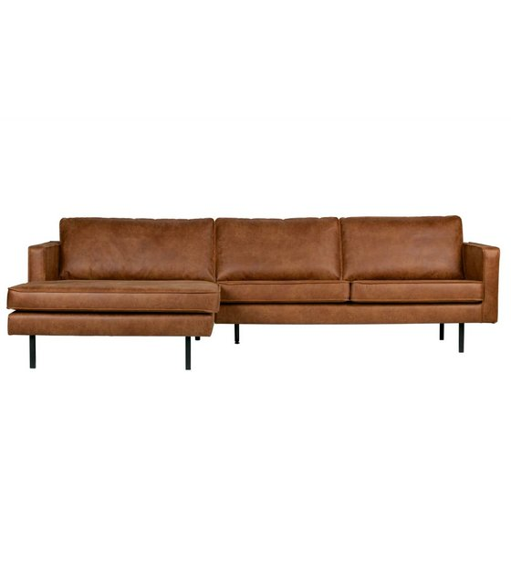 Pleasant Sofa Rodeo Chaise Longue Left Cognac Brown Leather 85X300X86 155Cm Machost Co Dining Chair Design Ideas Machostcouk