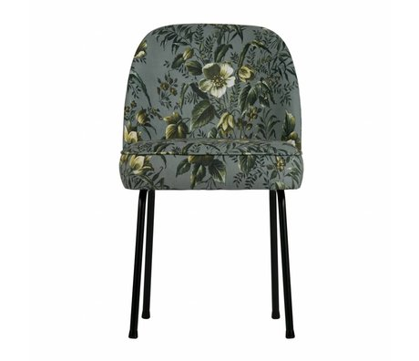 BePureHome dining chair vogue poppy gray velvet 82,5x50x57cm