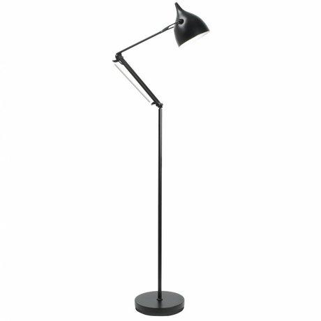 Zuiver Floor Lamp Reader metal matt black Ø25xH167cm