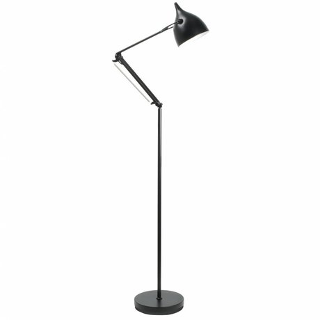 Zuiver Vloerlamp Reader metaal mat zwart Ø25xH167cm