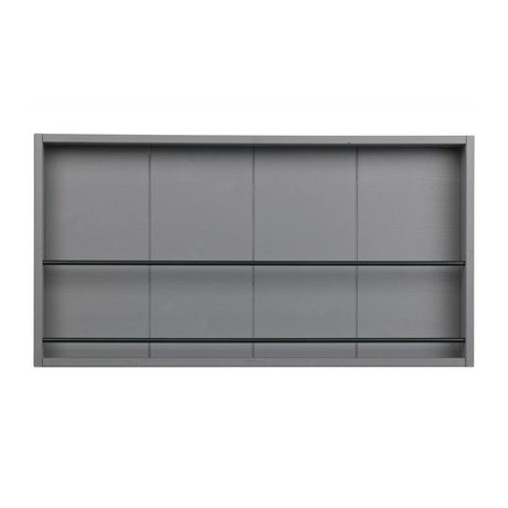 WOOOD Letterbox Swing gray pine sanded clay 38,5x73x8,5cm