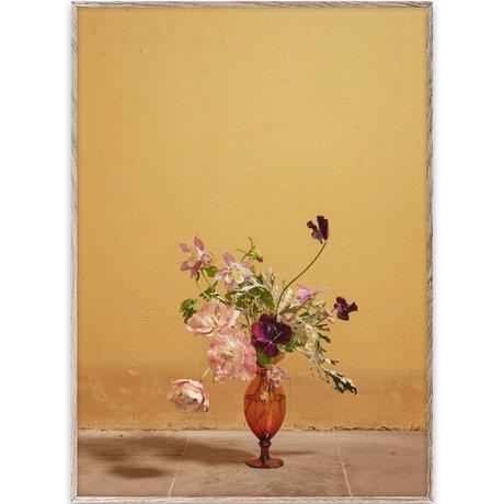 Paper Collective Poster Blomst 02 / ochra Mehrfarbenpapier 50x70cm