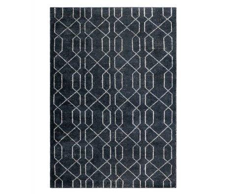 Zuiver Teppich Mars schwarz weiß Textil 170x240cm