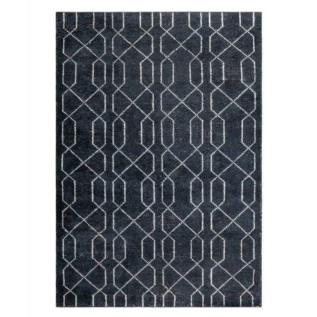 Zuiver Rug Mars black white textile 170x240cm