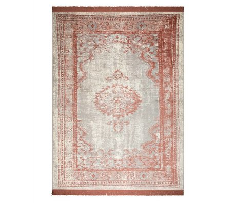 Zuiver Rug Marvel Blush red textile 170x240cm