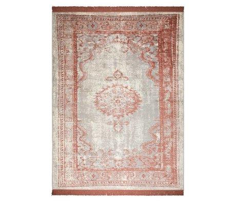 Zuiver Tapis Marvel Blush rouge textile 170x240cm