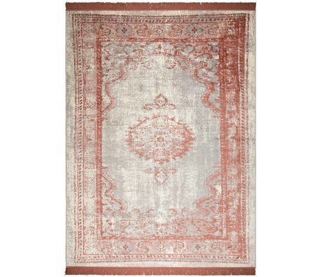 Zuiver Rug Marvel Blush red textile 200x300cm