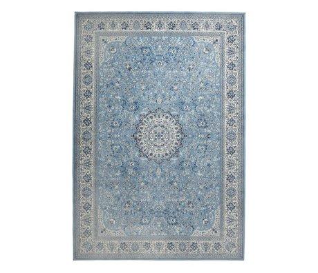 Zuiver Vloerkleed Milkmaid blauw textiel 170x240cm