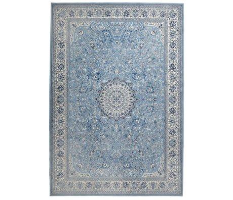 Zuiver Vloerkleed Milkmaid blauw textiel 200x300cm