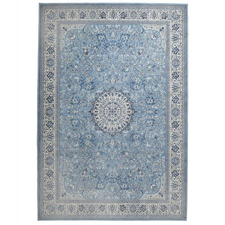 Zuiver Tapis Milkmaid bleu textile 200x300cm