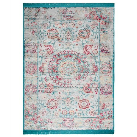 Zuiver Vloerkleed Tante lien multicolour textiel 200x300cm