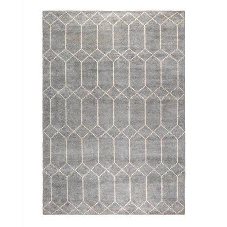 Zuiver Teppich Venus grauweiß Textil 170x240cm