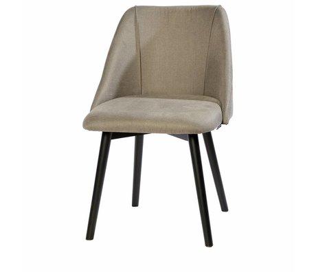 Riverdale Chaise de salle à manger Stanley gris 83x56x60 cm