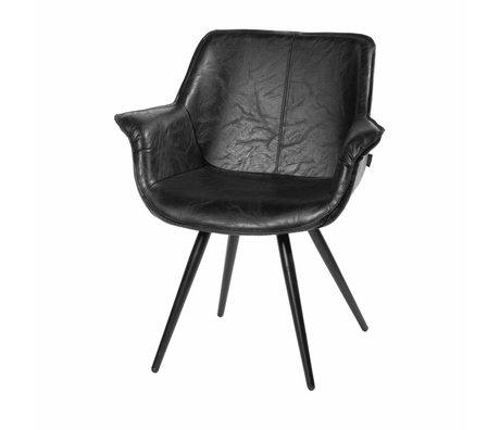 Riverdale Dining chair Blake black 83x70x60 cm