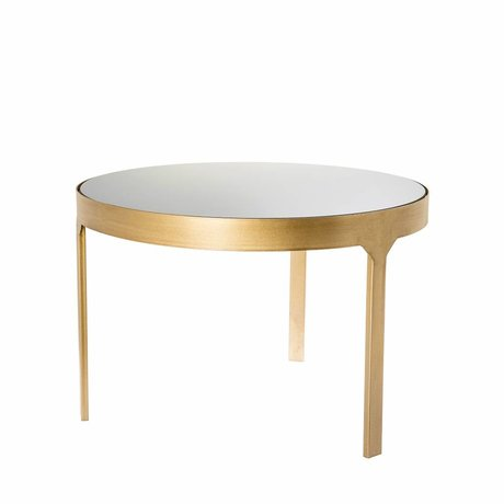 Riverdale Side table Amaro gold 60x60x40,4cm