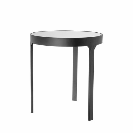 Riverdale Table d'appoint Amaro noir 45x45x50,5cm