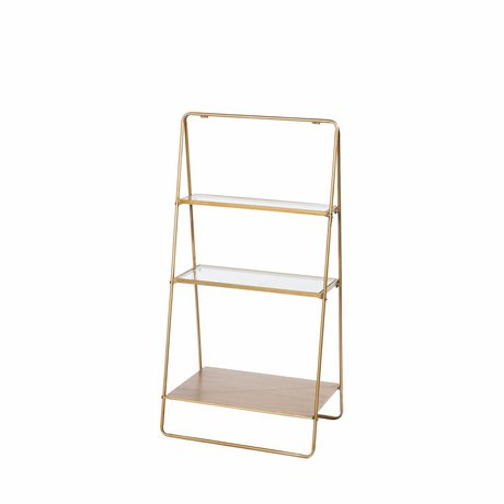 Riverdale Display rack Amaro gold 100x50,5x34,5 cm