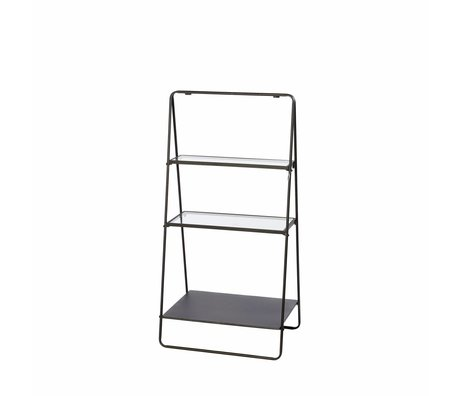Riverdale Display rack Amaro black 100x50,5x34,5cm