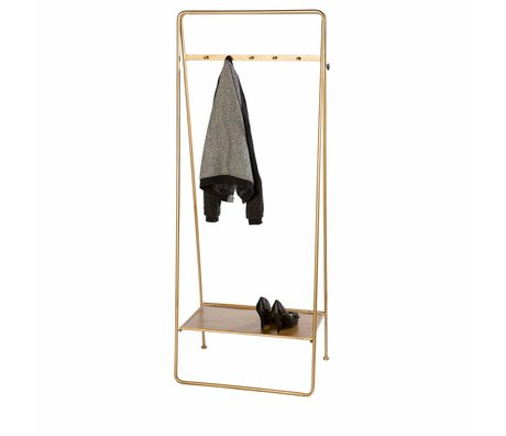 Riverdale Coat rack Amaro gold 179x70x45cm