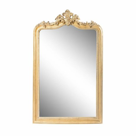 Riverdale Mirror Eleanor gold wood 130cm