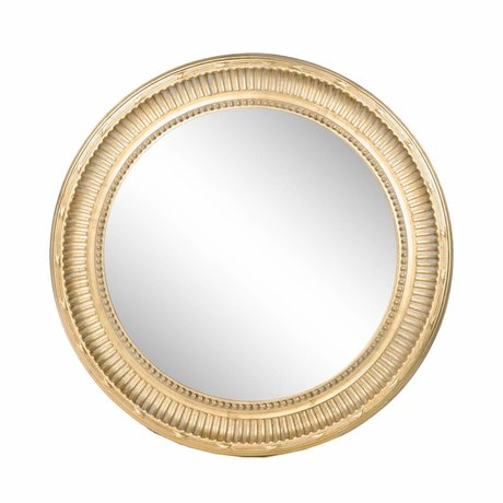 Riverdale Mirror Eleanor gold Ø95cm
