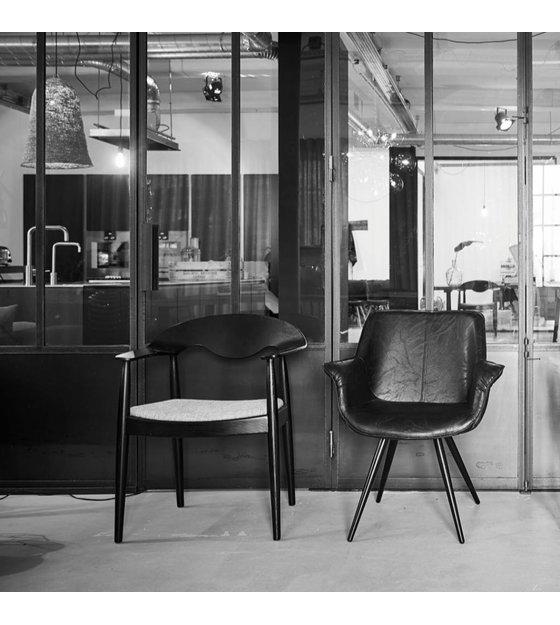 Salle À Manger De Noir Beige Chaise 81cm Eden Tl1cFKJ