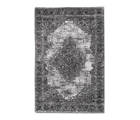 Riverdale Vloerkleed Fade donker grijs 160x230cm