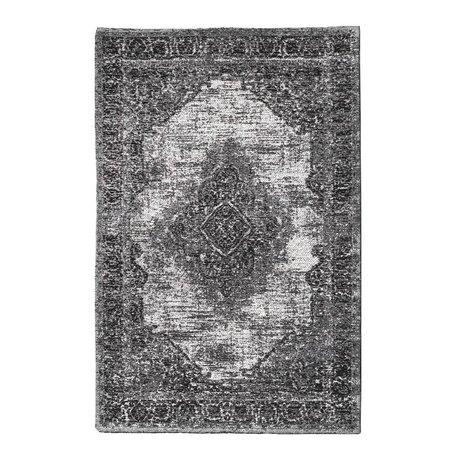 Riverdale Vloerkleed Fade donker grijs 200x300cm