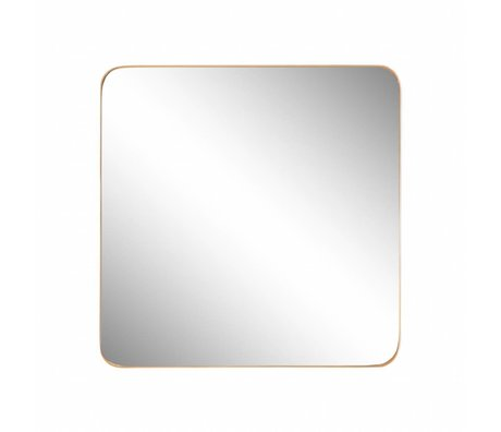 Riverdale Mirror Amaro gold 60x3.5xH60cm