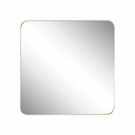 Riverdale Miroir Amaro Or 60x3.5xH60cm