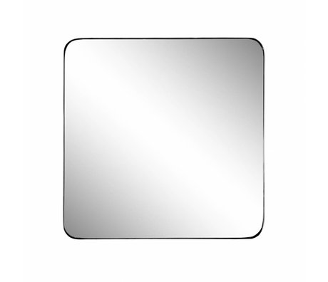 Riverdale Mirror Amaro black 60x3.5xh60cm