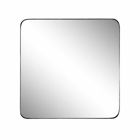 Riverdale Spiegel Amaro schwarz 60x3.5xh60cm
