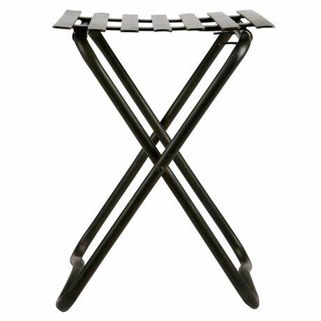 BePureHome Kruk Brave zwart metaal 50x36,5x37cm