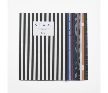 Ferm Living Gift paper book Arti multicolour paper 60x42cm