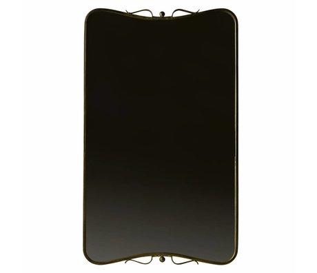 BePureHome Mirror Double antique brass gold 85,5x51,5x2,5cm