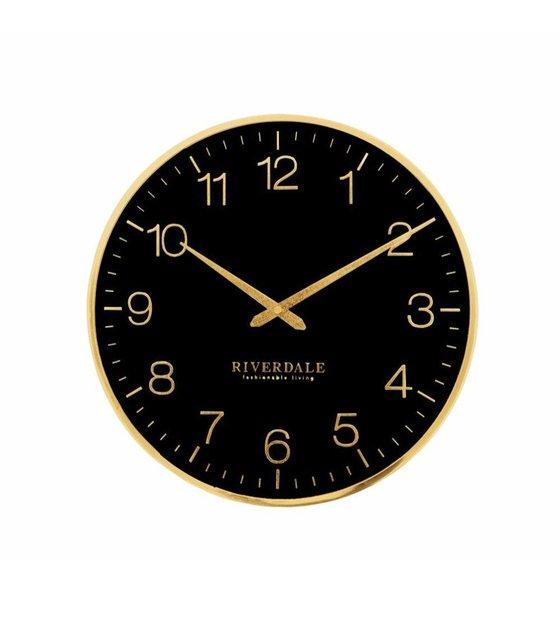murale murale noir Horloge Ritz 40cm Horloge murale Horloge noir Ritz 40cm dtrhsQ