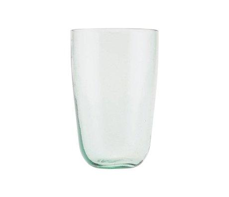 Housedoctor Glas Votiv transparant glas Ø8,5x13cm