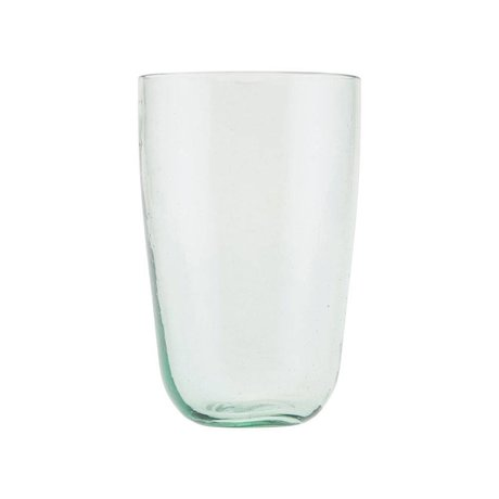 Housedoctor Glas Votiv transparentes Glas Ø8,5x13cm