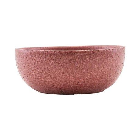 Housedoctor Dish Diva rote Keramik Ø13,5cm