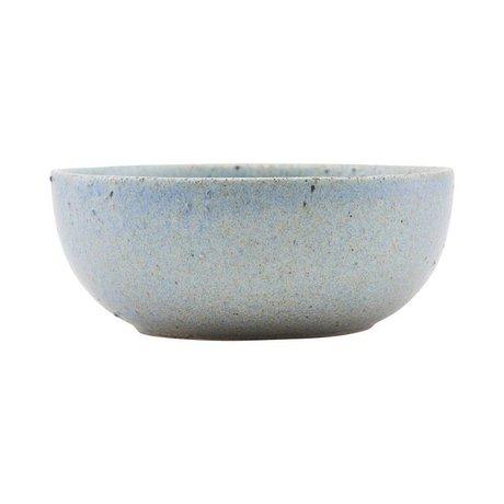 Housedoctor Dish Diva gray blue ceramics Ø13,5cm