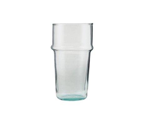 Housedoctor Verre Thé en verre transparent Ø6,2x12cm