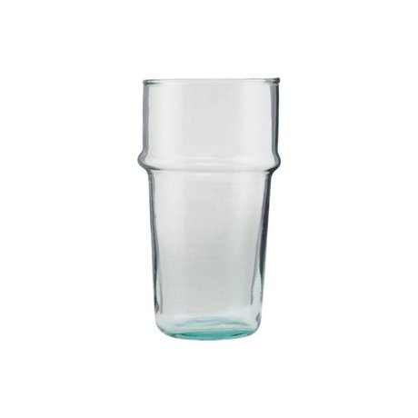 Housedoctor Glas Tee transparentes Glas Ø6,2x12cm