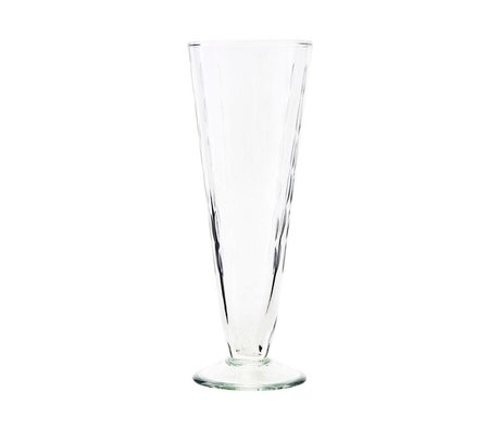 Housedoctor Champagne glas Vintage transparant glas Ø7x20cm